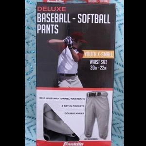 Youth Franklin baseball/softball pants